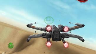 ... und der klassische X-Wing.