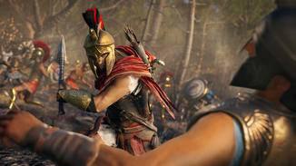 Der Kampf der Spartaner gegen die Athener bestimmt die Handlung.