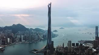 """Das """"The Pearl"""" ist das höchste Gebäude der Welt und wird in """"Skyscraper"""" zur Zielscheibe von Terroristen."""