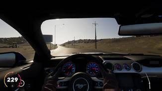 Auf Wunsch gibt's Cockpit-Perspektive für alle Fahrzeuge.