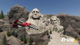 Sighseeing: Im Flugzeug besuche ich Sehenswürdigkeiten wie Mount Rushmore – und fliege ein paar Kunststücke vor den Augen der in Stein gemeißelten US-Präsidenten.