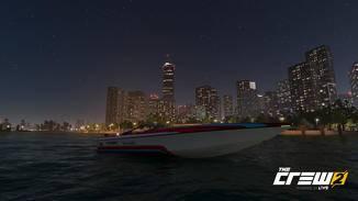 Bei Nacht sehen auch die Städte toll aus.