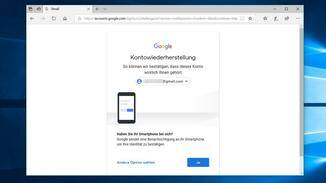 Google bietet Dir die Option eine Benachrichtigung an Dein Smartphone zu senden...
