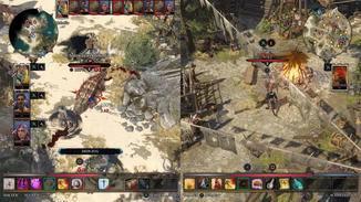 Dank Split-Screen-Koop können Spieler sich auch an völlig anderen Orten befinden.