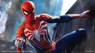 Oben, unten, links, rechts – egal: Spider-Man findet überall Halt.