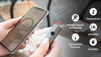So lässt sich immer und überall die Luftqualität messen.