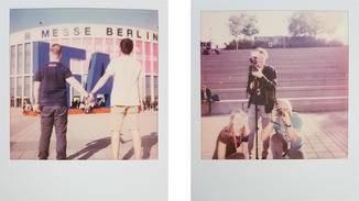 Polaroid-Fotos haben immer einen etwas verwaschenen Look.