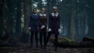 """Die """"Weird Sisters"""" Agatha, Prudence und Dorcas machen Sabrina das Leben schwer."""
