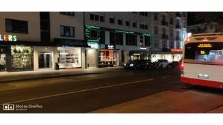 Das OnePlus 6T eignet sich gut für Nachtaufnahmen.