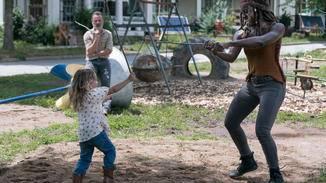 The Walking Dead-S09E03-Rick-Judith-Michonne-Gene Page-AMC