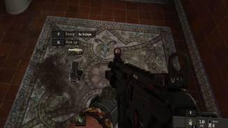 Waffen-Mods können direkt montiert werden.