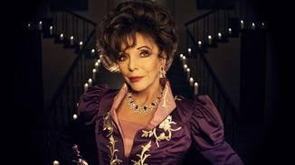 Joan Collins gibt Evie Gallant gekonnt abgebrüht.