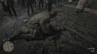 """In """"Red Dead Redemption 2"""" wird Arthur gelegentlich auch mal dreckig."""
