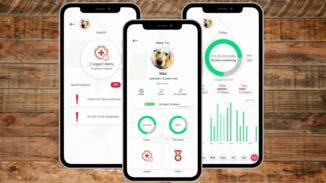 Lass Dir in der App zum Sniffer GPS  die Health-Werte Deines Hundes anzeigen.