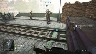 Im Spiel werden die engsten Kameraden grün markiert.