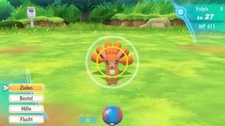 """Fangen 2.0: Gegen wilde Pokémon wird in """"Let's Go"""" nicht mehr gekämpft."""