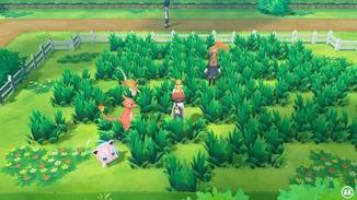Wilde Pokémon sind nun sichtbar, wenn sie durch's hohe Gras streifen.
