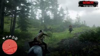 Ohne Auto-Aim-Feature wären Treffer vom Pferd...