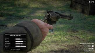 Unzählige Waffen dürfen gepflegt und verbessert werden. Bringt das Spaß? Ja!
