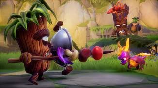 Gegner mit Schilden oder Rüstung können nur umgerannt werden.