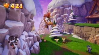 Mit Sheila wird das Spiel zum echten Jump 'n' Run: Sie ist eine echte Spezialistin für hohe Sprünge.