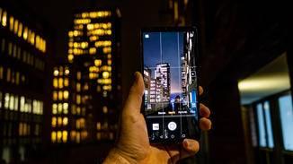 Auf anderen Smartphones wäre bei solchen Lichtverhältnissen kaum etwas zu erkennen.