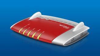 Die Fritzbox 6430 Cable unterstützt nur ein WLAN-Band uns lässt die ganz großen Geschwindigkeiten daher vermissen.