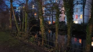 Der Nachtmodus erhöht die Belichtungszeit, aber Rauschen ist deutlich sichtbar.