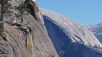 Yosemite ist aber auch ein Mekka für Sportkletterer.