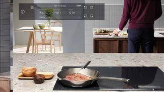 Das SensePro-Kochfeld hilft Dir zusammen mit dem neuen Lebensmittelthermometer beim Kochen.