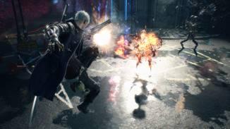 Nero ist auch ohne seinen dämonischen Arm ein ernstzunehmender Gegner.