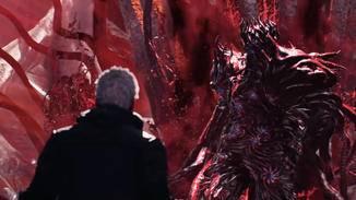 Der Dämonenkönig Urizen erscheint wie aus dem Nichts.