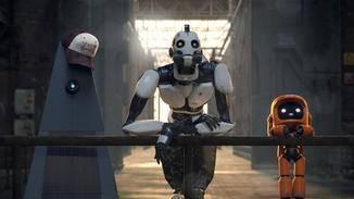 """Drei Roboter"" sind moderne Touristen."