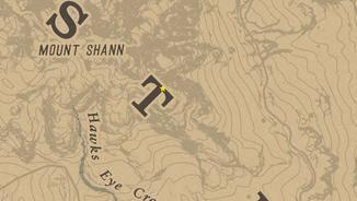 """Der Fundort der Überreste liegt südöstlich von Mount Shann, direkt im ersten """"T"""" von West Elizabeth."""