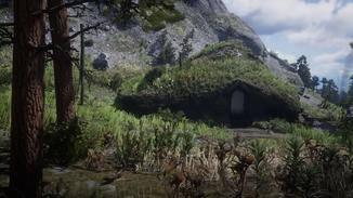 Ob es sich bei diesem Haus um Bilbo Beutlins Ferienwohnung handelt, werden wir wahrscheinlich nie erfahren.