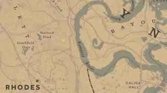 Die Dummheit des Klans kann nachts östlich des Mattock Ponds bestaunt werden.