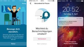 Fitbit hält Dich mit Bildschirmbenachrichtigungen auf dem Smartphone ...