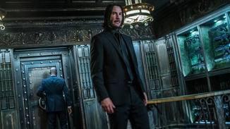 Keanu Reeves als John Wick.