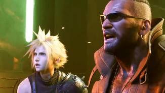 Auch Barret Wallace kämpft im Remake wieder an der Seite von Cloud.