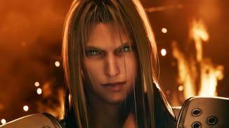 Bösewicht Sephiroth trat bisher nur in einer Videosequenz auf.