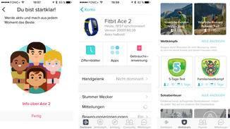 In der App können diverse Einstellungen vorgenommen werden.