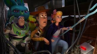Woody, Buzz und Bo Peep befinden sich auf gefährlicher Mission.