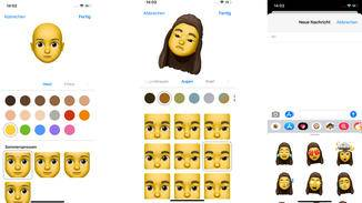 In iOS 13 kannst Du Dein Animoji kurzerhand selbst kreieren. Ob Gesicht, Augen, Haare – alles kann von Dir frei gewählt werden. Noch dazu werden Animojis als Sticker in der Tastatur platziert, womit sie sich auch in Mail oder Drittanbieter-Apps verwenden lassen.
