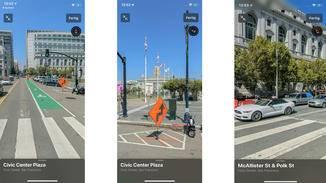 """Mit dem neuen Feature """"Look Around"""" kannst Du Dich in ausgewählten US-Städten in schicker 3D-Optik umsehen. Städte in Deutschland werden zum Start aber nicht unterstützt."""