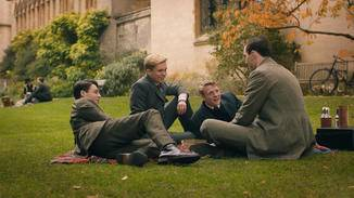 Ein eingeschworener Kreis: Tolkien (Nicholas Hoult, rechts) und seine Freunde.