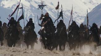 Die nördlichen Invasoren sind auch in der Realverfilmung ziemlich grimmig geraten.