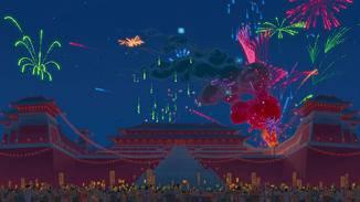 Ob wir in der Realverfilmung auch so ein schönes Feuerwerk zu sehen bekommen?