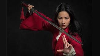 Mulan steht im Film...