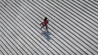 Wenn Mulan im Trailer über die Stufen rennt ...