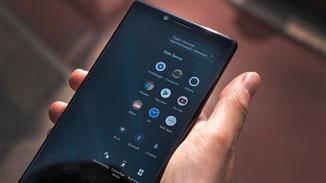 Sony Xperia 1 Side Sense Menü